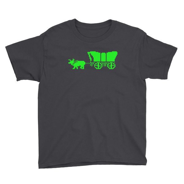 Oregon Trail Tee Youth Wagon