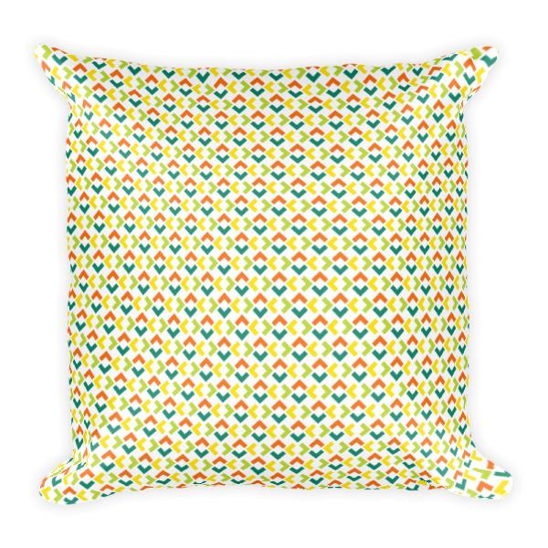 Woven Chevrons Pillow