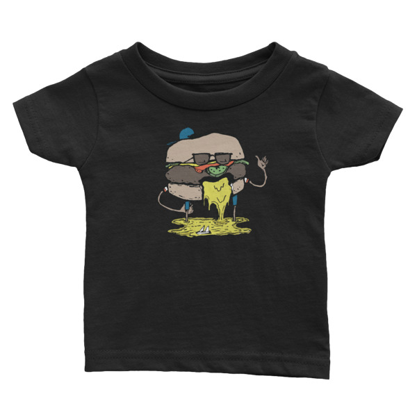 Juicy Lucy Tee Baby Burger