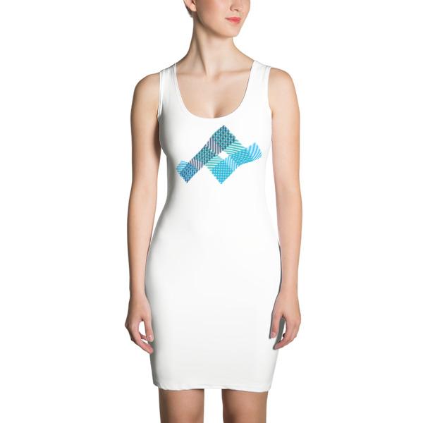 Woven Strips Dress
