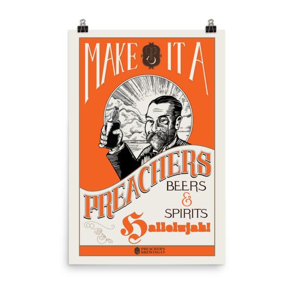 Preachers Poster