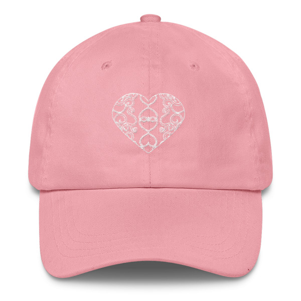 Filigree Heart Hat