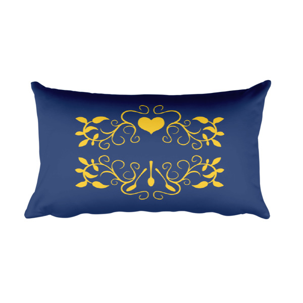 Hearts & Spoons Pillow