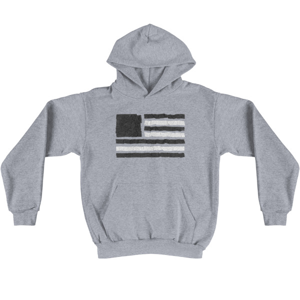 Old Time Hockey Hoodie Tape Flag