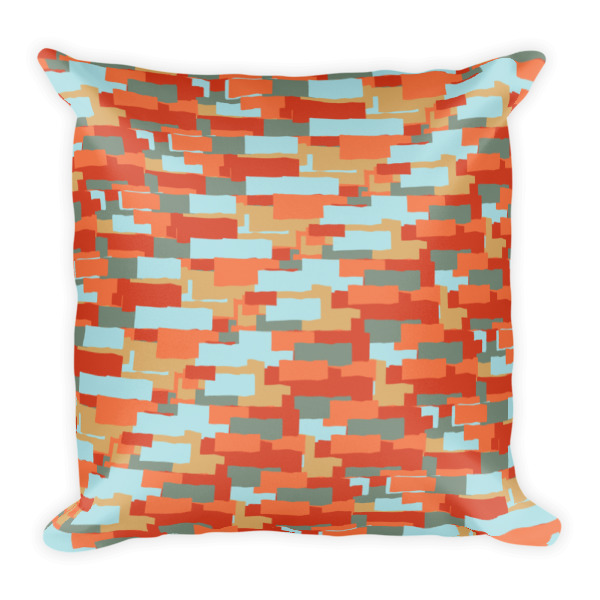 Layered Ribbons Pillow