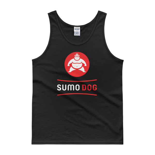 Sumo Dog Tank Black