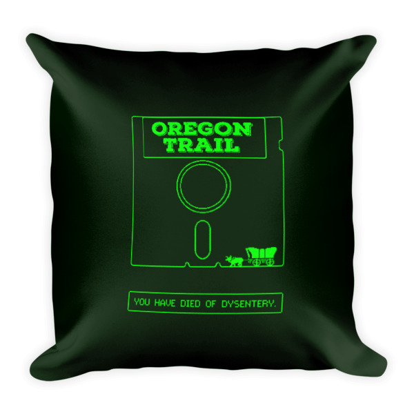 Oregon Trail Pillow Disk