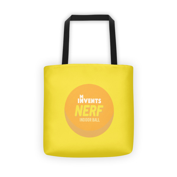 Foam Fun Tote Logo Yellow