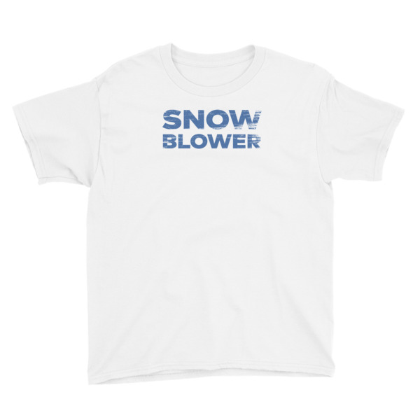 Snowblower Tee Youth Wordmark
