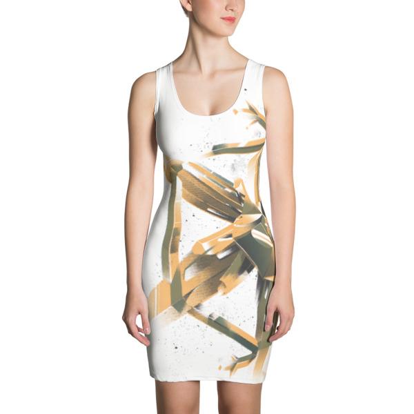 Crystal Flake Dress Bold