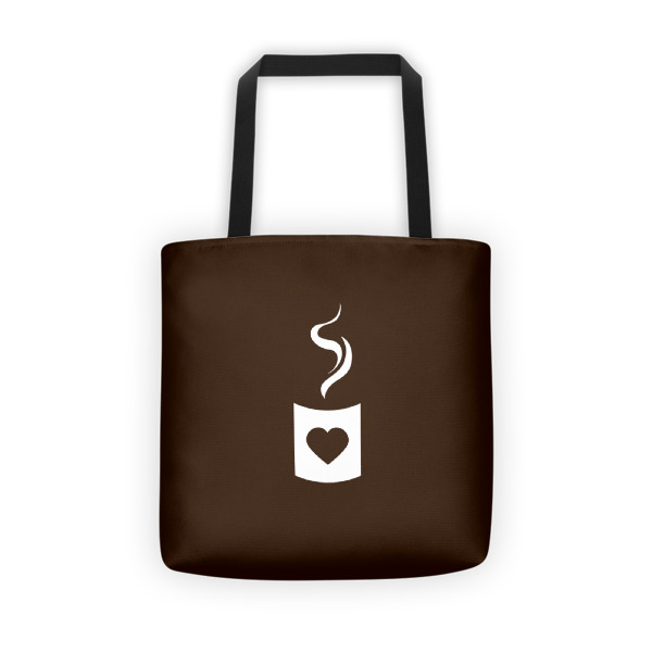 Heart Cup Tote
