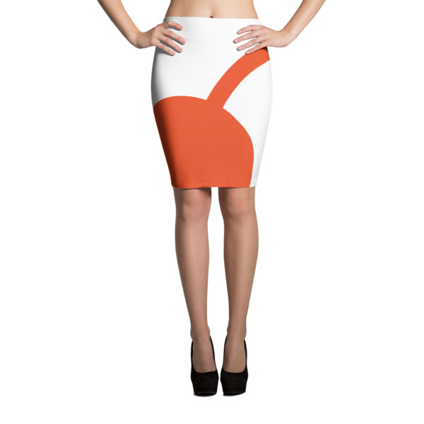 I Cherry MPLS Pencil Skirt