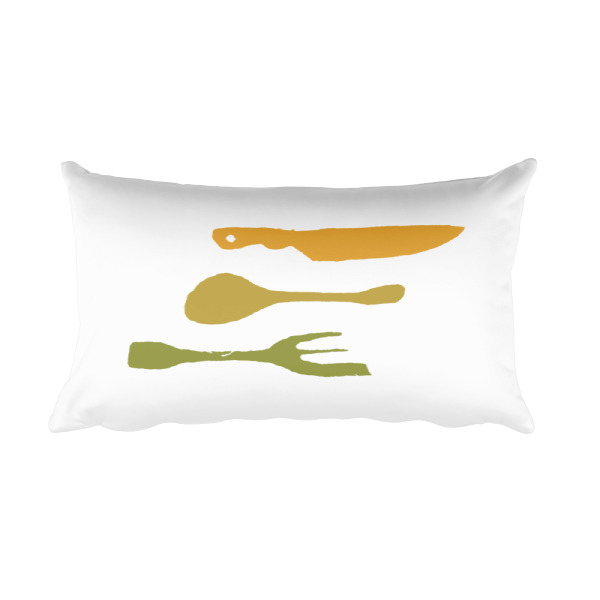 Country Utensils Pillow