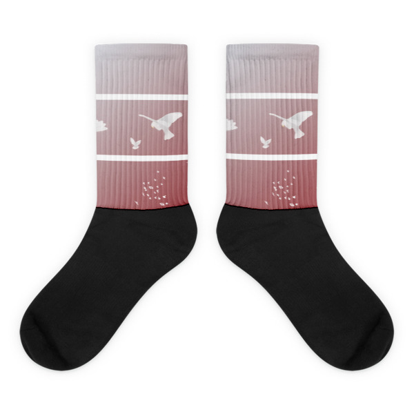 Doves Triptych Socks