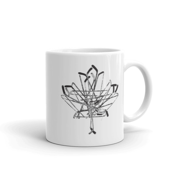 Old Time Hockey Canada Sticks Mug