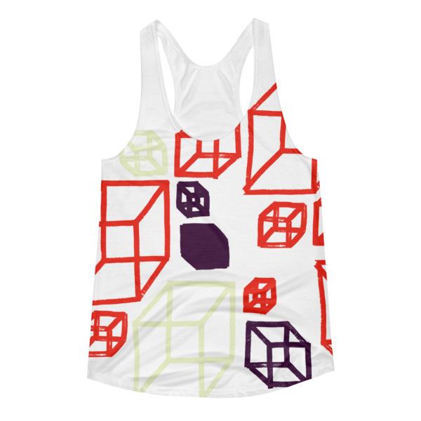Shapeshifter Tank Women Cubes