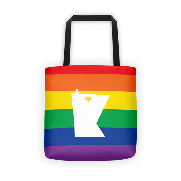 Equal Equals Love Pride Tote Bold