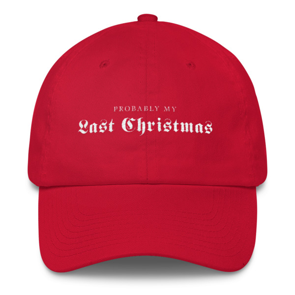 Last Christmas Buckle Hat
