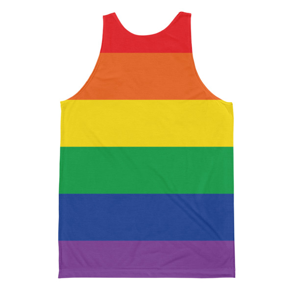 Juicy Lucy Pride Men's All Over Tank