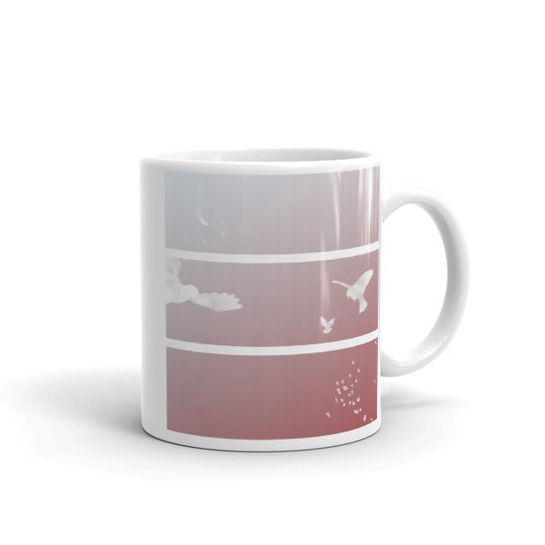 Doves Triptych Mug