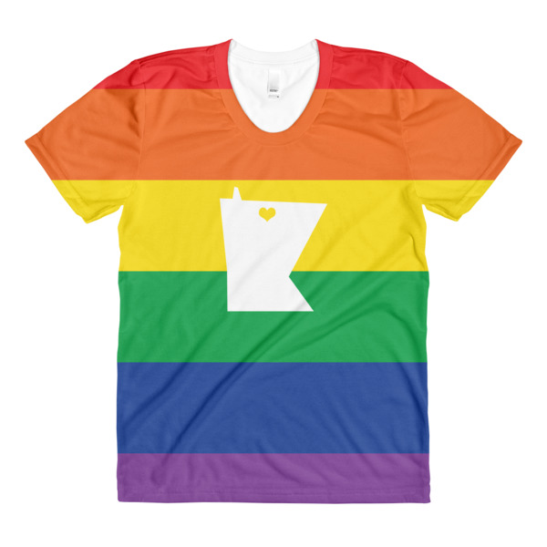 Equal Equals Love Pride Women's All Over Tee