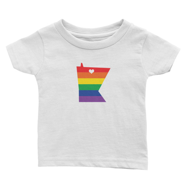 Equal Equals Love Pride Baby Shirt