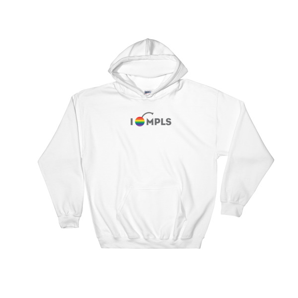 I Cherry MPLS Simple Pride Hoodie