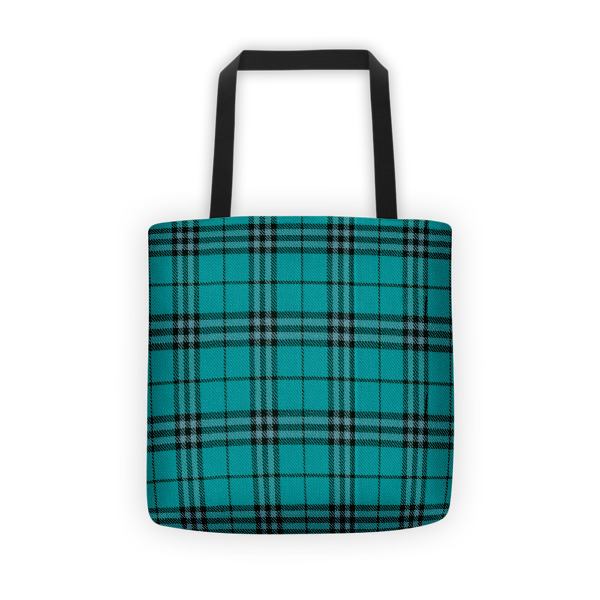 Cabin Cloth Tote Plaid