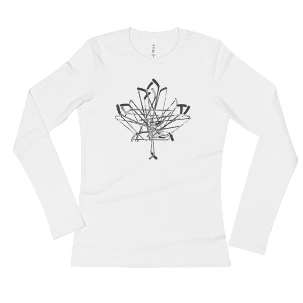 Old Time Hockey Canada Sticks Shirt Longsleeve Women