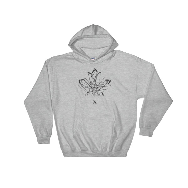 Old Time Hockey Canada Sticks Hoodie