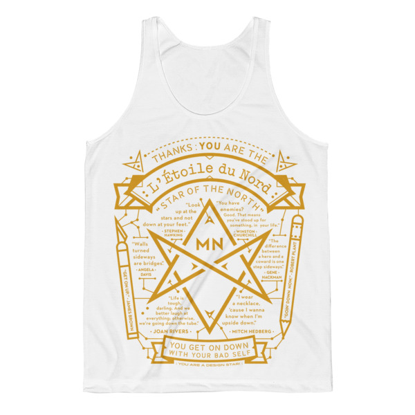 North Star Tank White