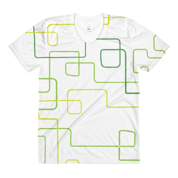 Shapeshifter Tee Women Squiggles
