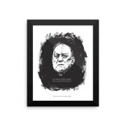 Crowley Poster Framed