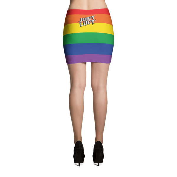 Juicy Lucy Pride Mini Skirt