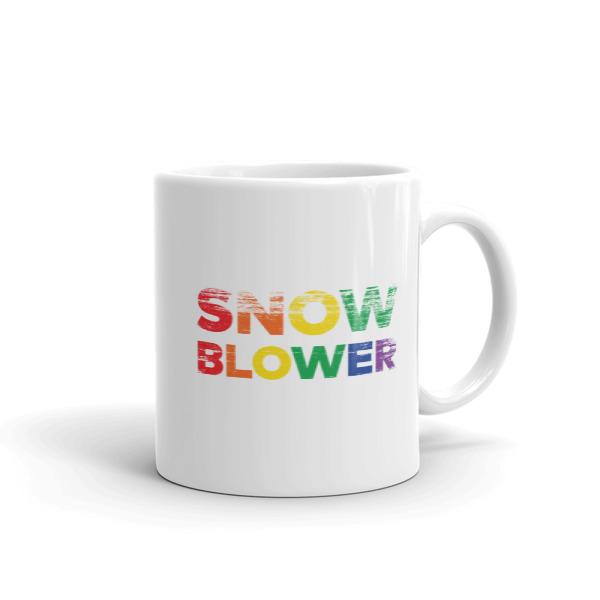Snow Blower Pride Mug