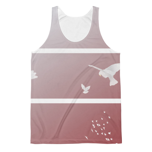 Doves Triptych Tank