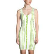 Shapeshifter Dress Stripes