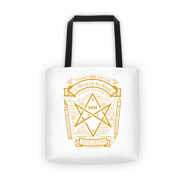 North Star Tote White