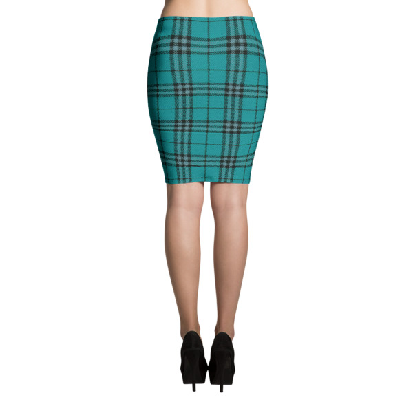 Cabin Cloth Skirt Plaid