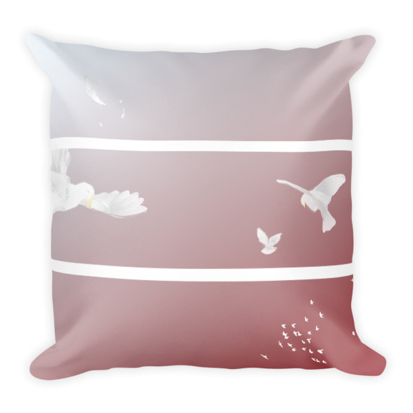Doves Triptych Pillow
