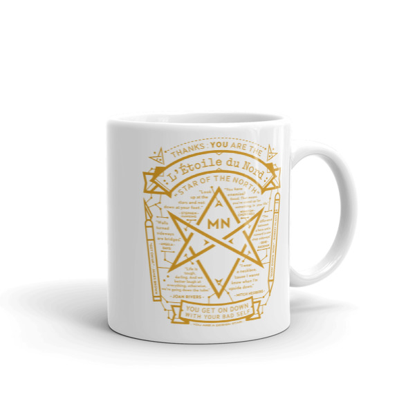 North Star Mug White