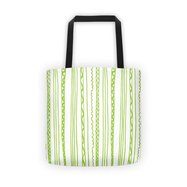 Shapeshifter Tote Stripes