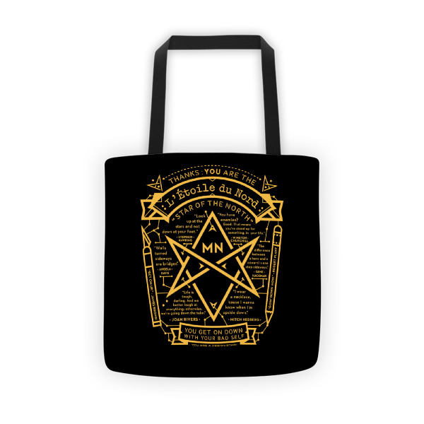 North Star Tote Black