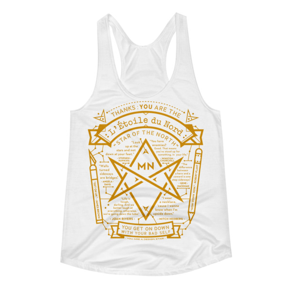 North Star Tank Women White