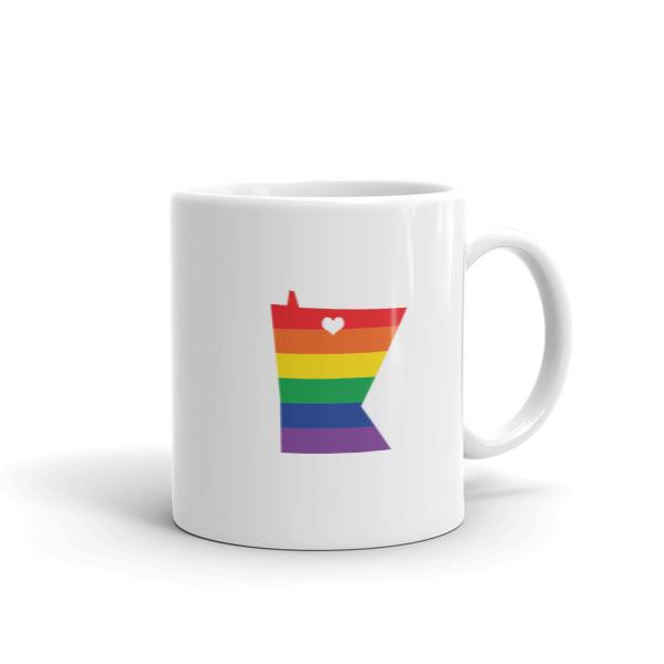 Equal Equals Love Pride Mug