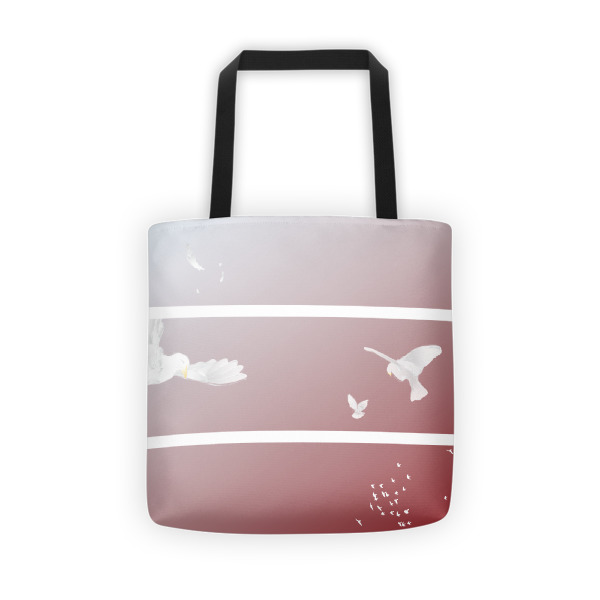 Doves Triptych Tote