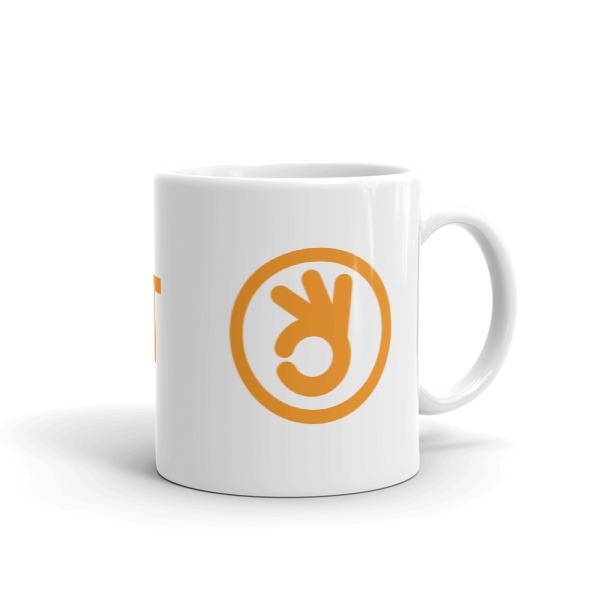 I Quit Mug Orange