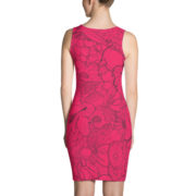 Joia Dress Pomegranate