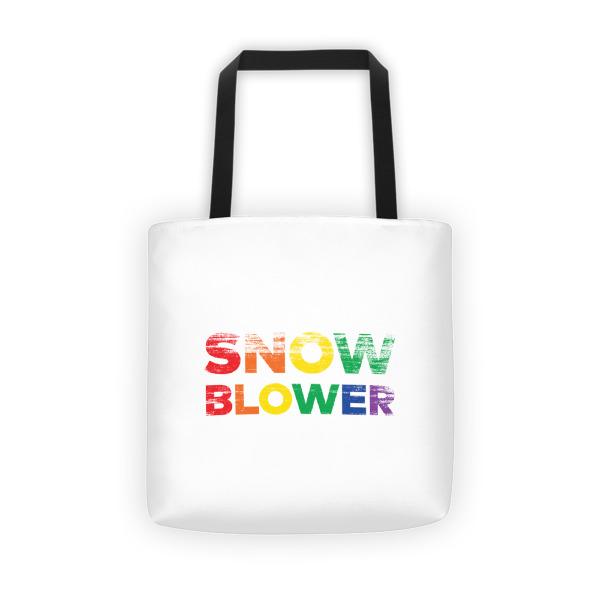 Snow Blower Pride Tote