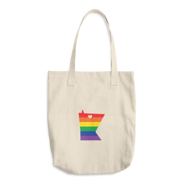 Equal Equals Love Pride Canvas Tote